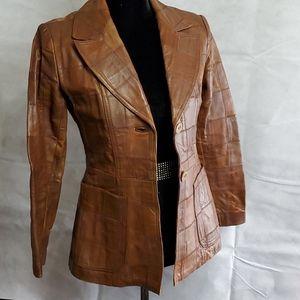 Jackets & Blazers - Vintage Leather Blazer